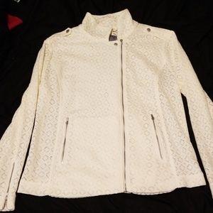 White Ruff Hewn Jacket